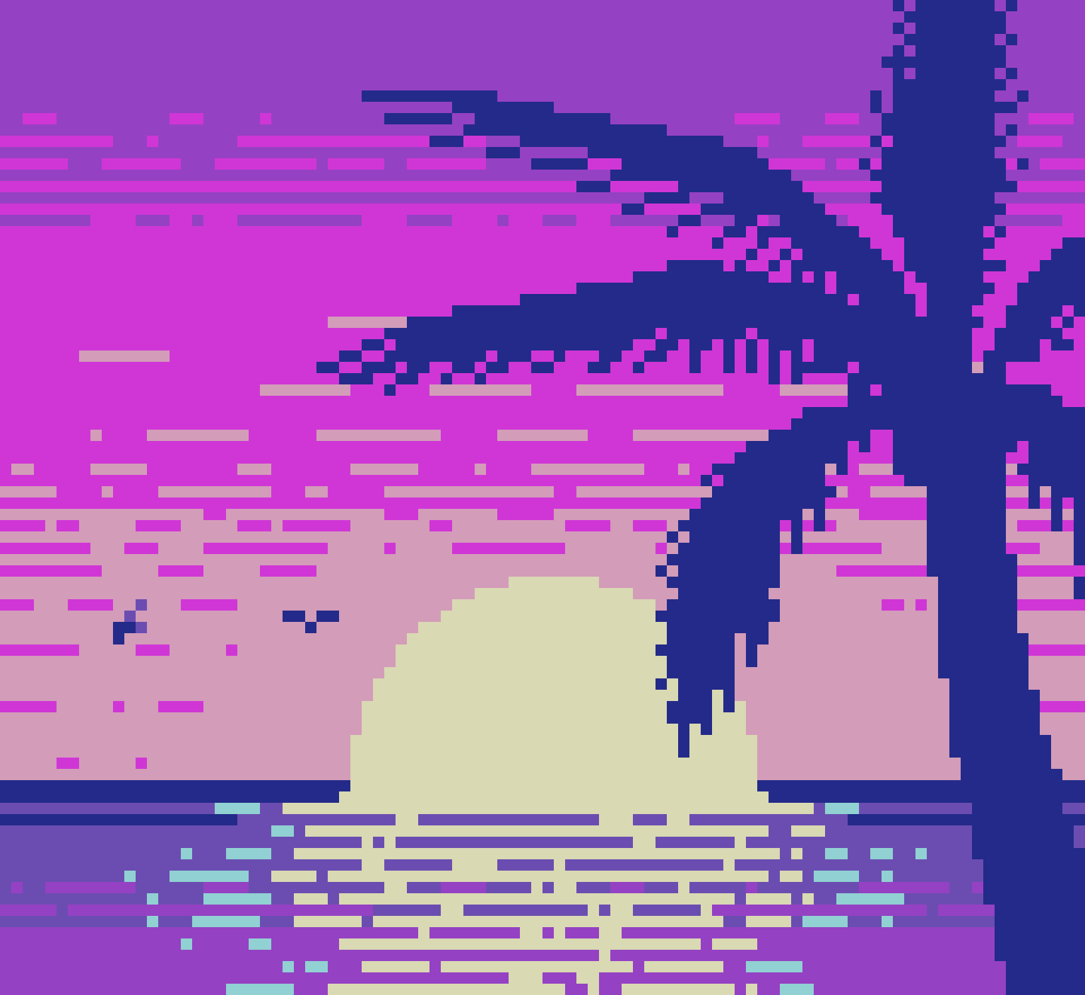 Pixel Dailies: Palm Tree